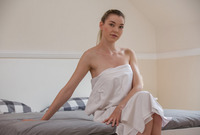 Leila and Anny Aurora in Dripping Wet Sauna Sex by X-Art (nude photo 1 of 16)