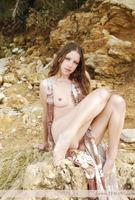 Nude erotic teen Mika outdoors (nude photo 2 of 12)