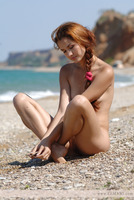 Janne nude on the beach (nude photo 6 of 12)