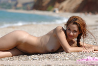 Janne nude on the beach (nude photo 10 of 12)