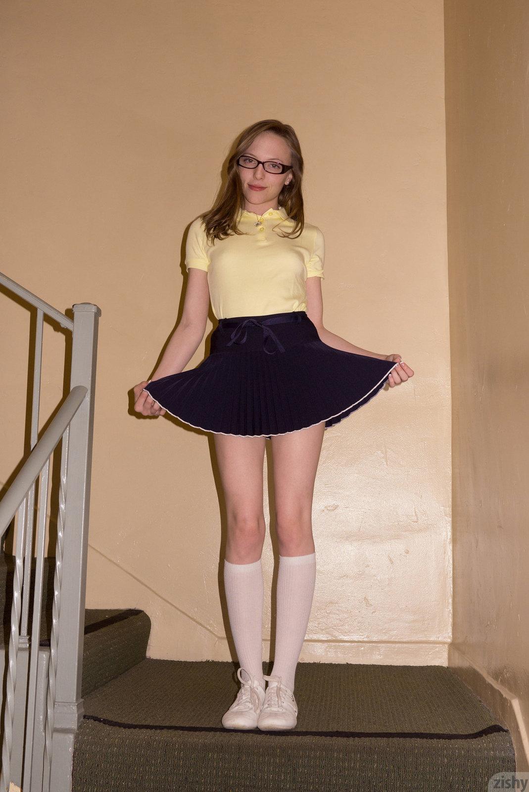 Aubrey Star In Privates School By Zishy 12 Photos -9384
