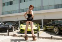 Sabrina Lynn in Rents A Lambo by Zishy (nude photo 3 of 16)